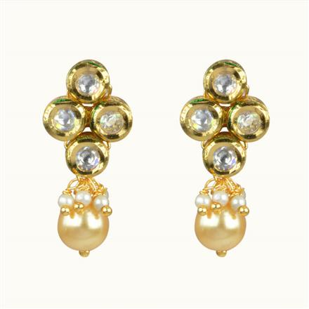 40071 Kundan Tops with gold plating