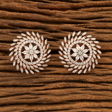 400946 Cz Tops with Rose Gold plating