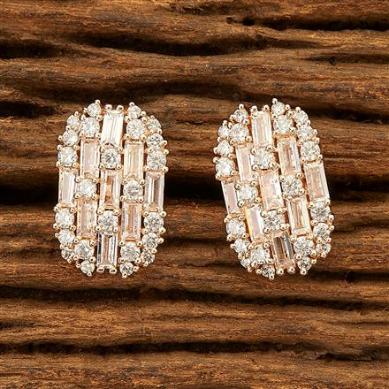 400948 Cz Tops with Rose Gold plating