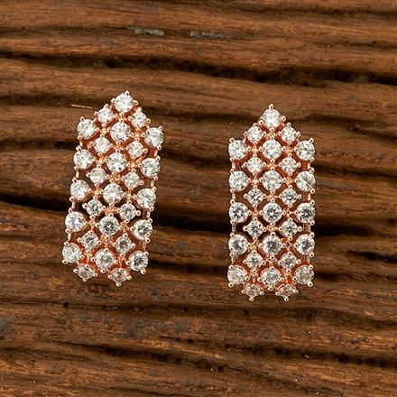 401217 Cz Balis with Rose Gold plating