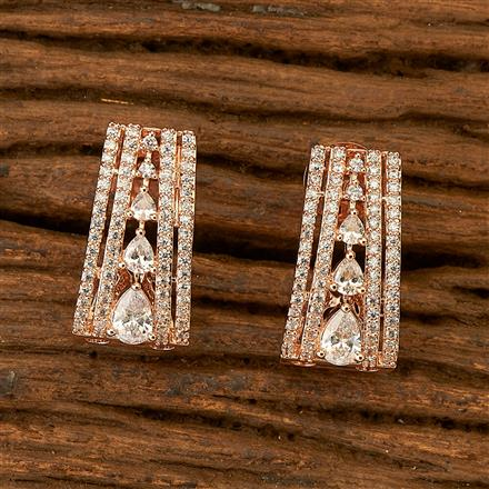 401222 Cz Balis with Rose Gold plating