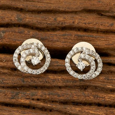 401995 Cz Tops with Rhodium plating