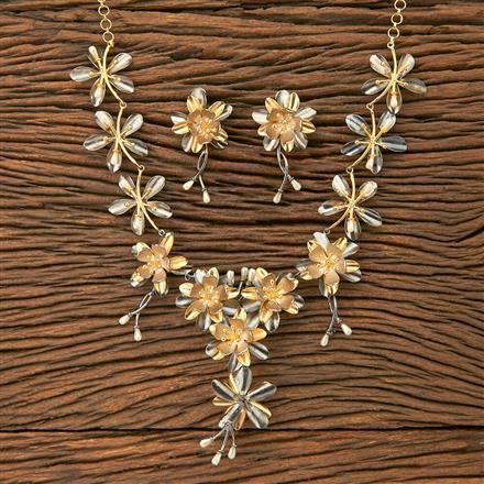 403061 Designer Trendy Necklace with black plating