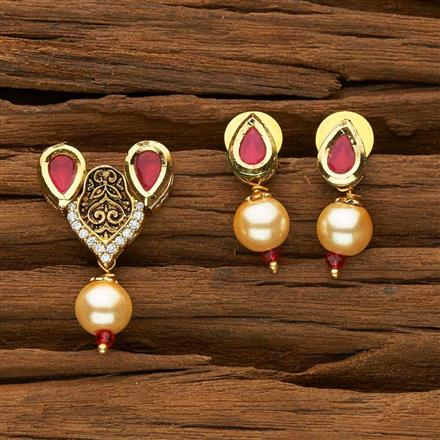40333 Kundan Classic Mangalsutra with gold plating
