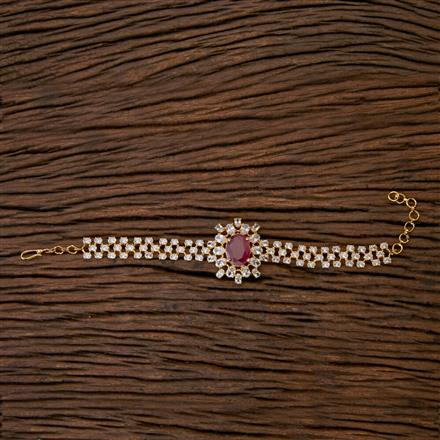 403415 Cz Classic Bracelet with gold plating