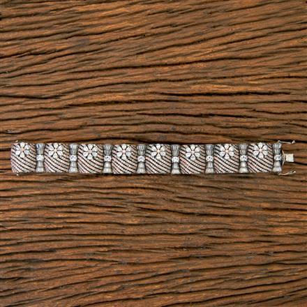 403976 Cz Classic Bracelet with Black Rose plating