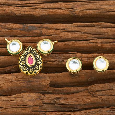 40572 Kundan Classic Mangalsutra with gold plating