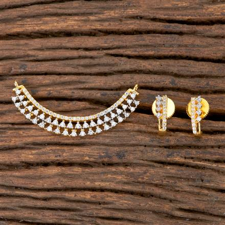 405846 Cz Classic Mangalsutra With 2 Tone Plating