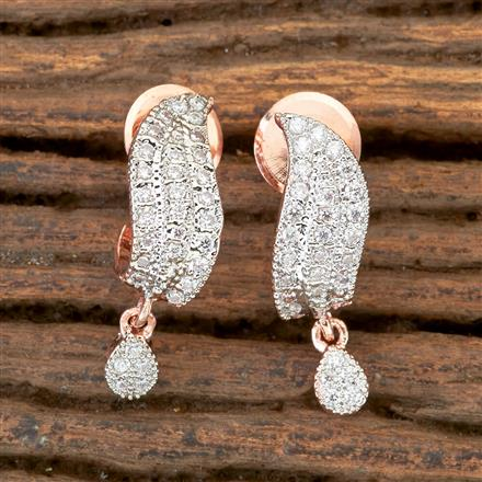 406276 Cz Balis with Rose Gold Plating