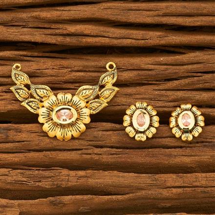40631 Kundan Classic Mangalsutra with gold plating
