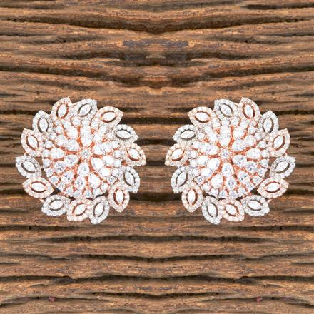 406826 Cz Tops with Rose Gold Plating
