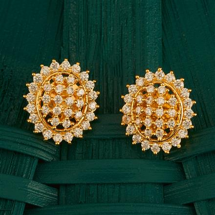 409996 Cz Tops With Gold Plating
