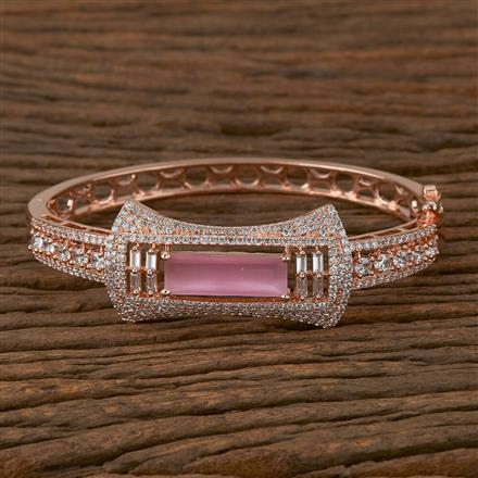 410276 Cz Classic Kada with Rose Gold Plating