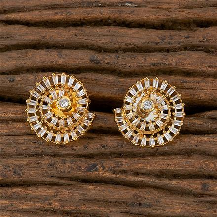 410350 Cz Tops With Gold Plating