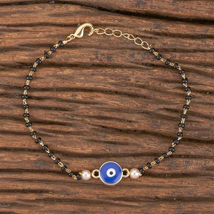 411253 Cz Classic Bracelet With Gold Plating