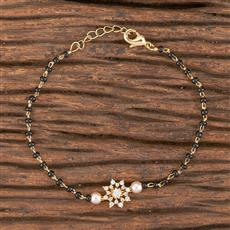 411255 Cz Classic Bracelet With Gold Plating