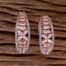 411543 Cz Balis With Rose Gold Plating