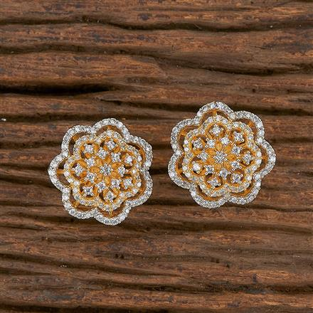 411587 Cz Tops With 2 Tone Plating