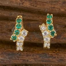 411760 Cz Balis With Gold Plating