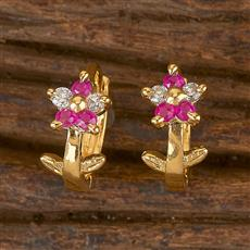 411764 Cz Balis With Gold Plating