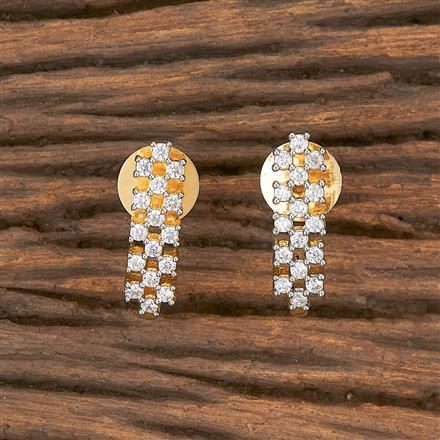 411772 Cz Balis With 2 Tone Plating