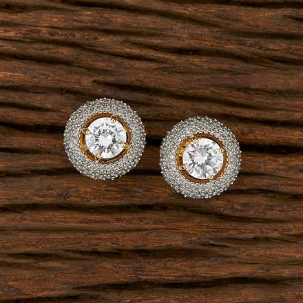 413485 Cz Tops With 2 Tone Plating