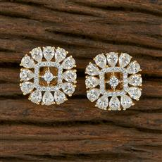 413708 Cz Tops With 2 Tone Plating
