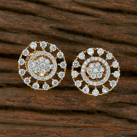 413716 Cz Tops With 2 Tone Plating