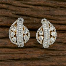 413717 Cz Tops With 2 Tone Plating