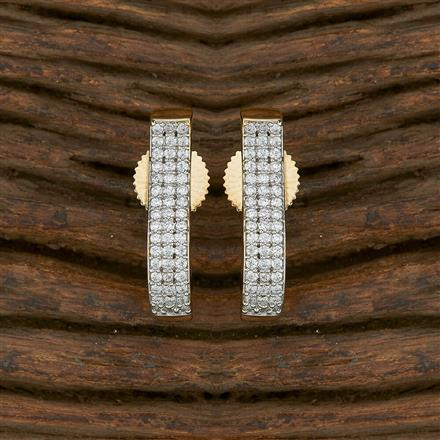 413728 Cz Balis With 2 Tone Plating