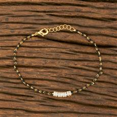 414355 Cz Delicate Bracelet With Gold Plating