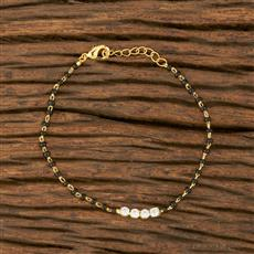 414357 Cz Delicate Bracelet With Gold Plating