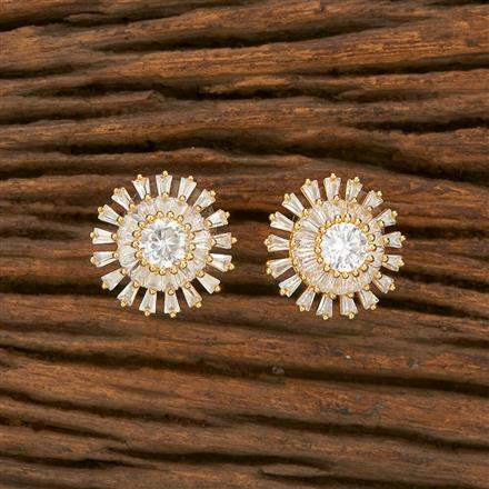 414435 Cz Tops With Gold Plating