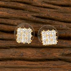 414439 Cz Tops With Gold Plating