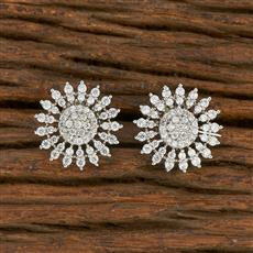 414625 Cz Tops With Rhodium Plating