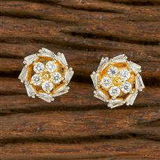 414632 Cz Tops With 2 Tone Plating