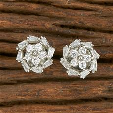 414633 Cz Tops With Rhodium Plating
