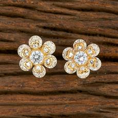 414634 Cz Tops With 2 Tone Plating
