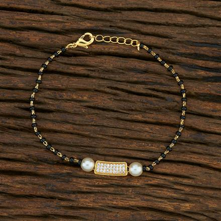 415158 Cz Delicate Bracelet With Gold Plating