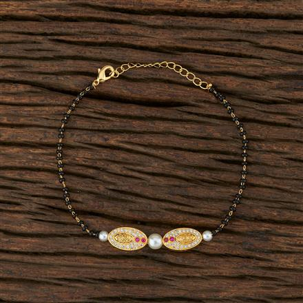 415274 Cz Classic Bracelet With Gold Plating