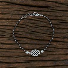 415460 Cz Delicate Bracelet With Rhodium Plating
