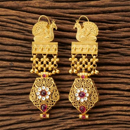 45313 Designer Classic Earring with gold plating