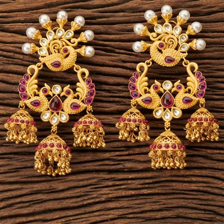 45318 Designer Classic Earring with gold plating