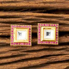 45509 Kundan Tops with gold plating