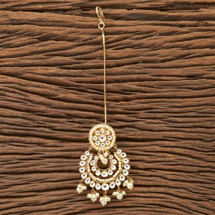 45816 Designer Jewellery Classic Bore with gold plating