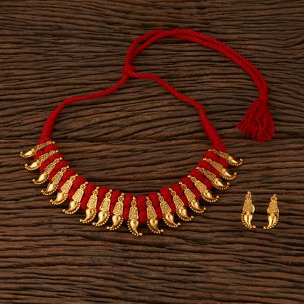 500047 Antique Classic Necklace with Gold Plating