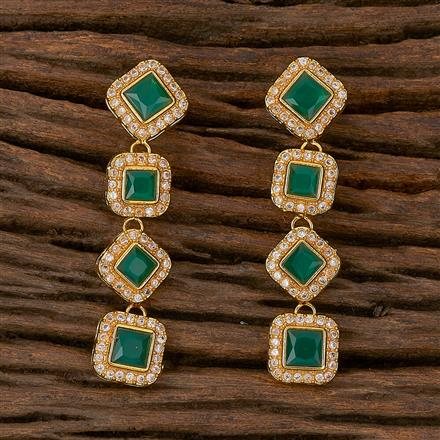 500182 Antique Classic Earring With Gold Plating