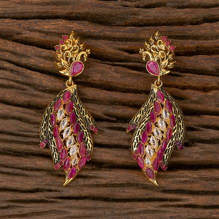 500183 Antique Classic Earring With Gold Plating