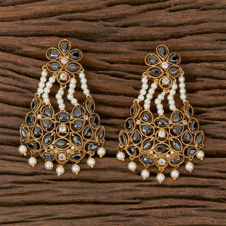 500197 Antique Classic Earring With Gold Plating
