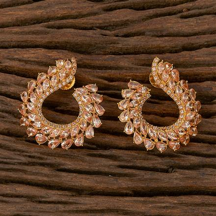 500210 Antique Classic Earring With Gold Plating